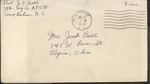 Jack P. Bell World War Two Correspondence #276