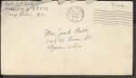 Jack P. Bell World War Two Correspondence #278