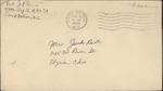 Jack P. Bell World War Two Correspondence #282