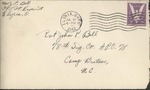 Jack P. Bell World War Two Correspondence #283