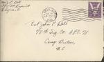 Jack P. Bell World War Two Correspondence #283