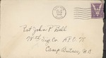 Jack P. Bell World War Two Correspondence #284