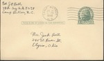 Jack P. Bell World War Two Correspondence #285