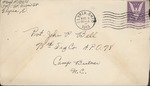 Jack P. Bell World War Two Correspondence #292