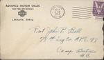 Jack P. Bell World War Two Correspondence #293