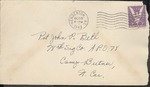 Jack P. Bell World War Two Correspondence #301