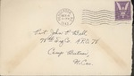 Jack P. Bell World War Two Correspondence #304