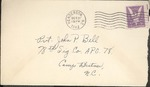 Jack P. Bell World War Two Correspondence #305