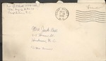 Jack P. Bell World War Two Correspondence #306