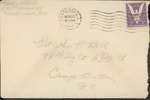 Jack P. Bell World War Two Correspondence #321