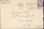 Jack P. Bell World War Two Correspondence #322