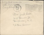 Jack P. Bell World War Two Correspondence #323