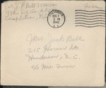 Jack P. Bell World War Two Correspondence #324