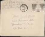 Jack P. Bell World War Two Correspondence #324