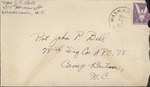 Jack P. Bell World War Two Correspondence #325