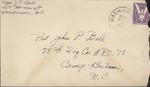 Jack P. Bell World War Two Correspondence #325