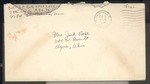 Jack P. Bell World War Two Correspondence #338