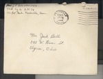 Jack P. Bell World War Two Correspondence #346