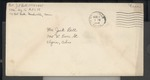 Jack P. Bell World War Two Correspondence #352