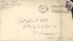Jack P. Bell World War Two Correspondence #354