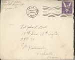 Jack P. Bell World War Two Correspondence #362