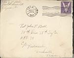 Jack P. Bell World War Two Correspondence #362