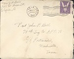 Jack P. Bell World War Two Correspondence #365
