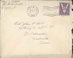 Jack P. Bell World War Two Correspondence #367