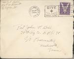 Jack P. Bell World War Two Correspondence #370