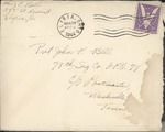 Jack P. Bell World War Two Correspondence #373