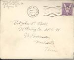 Jack P. Bell World War Two Correspondence #374
