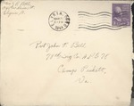 Jack P. Bell World War Two Correspondence #375