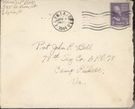 Jack P. Bell World War Two Correspondence #376