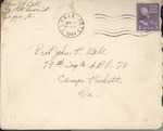 Jack P. Bell World War Two Correspondence #380