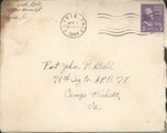 Jack P. Bell World War Two Correspondence #381