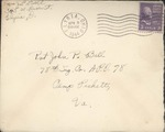 Jack P. Bell World War Two Correspondence #383