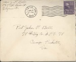 Jack P. Bell World War Two Correspondence #385
