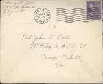 Jack P. Bell World War Two Correspondence #385