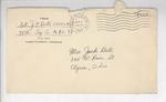 Jack P. Bell World War Two Correspondence #387