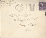 Jack P. Bell World War Two Correspondence #389