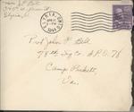 Jack P. Bell World War Two Correspondence #390