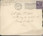 Jack P. Bell World War Two Correspondence #391