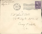 Jack P. Bell World War Two Correspondence #394