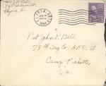 Jack P. Bell World War Two Correspondence #394