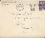 Jack P. Bell World War Two Correspondence #395
