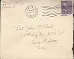 Jack P. Bell World War Two Correspondence #396