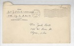 Jack P. Bell World War Two Correspondence #397