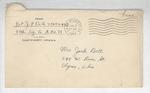 Jack P. Bell World War Two Correspondence #397