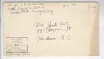 Jack P. Bell World War Two Correspondence #399
