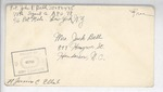 Jack P. Bell World War Two Correspondence #400
